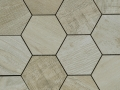Dom-Mix Esagona Barn Wood Beige 35x37.4cm