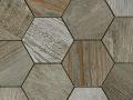 Dom-Mix Esagona Barn Wood Grey 35x37.4cm