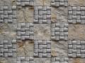 Mosaico Inserto Piedra Blanca 30x30 cm