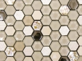MOSAVIT - Hexagonal Beige Nacar 30x30cm