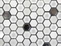 MOSAVIT - Hexagonal Blanco 30x30cm