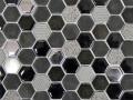 MOSAVIT - Hexagonal Lunar Fusion Black 30x30cm